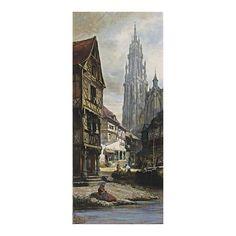 PIERRE HENRI THÉODORE TETAR VAN ELVEN, DUTCH 1828-1908, A VIEW OF ANTWERP