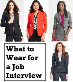 Interview Attire what to wear...how to wear your make up.....hair... etc