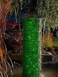 nautic led pro wasserfall set 30cm | gartenideen | pinterest ... - Wasserfall Garten Gabione