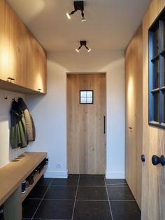 Home Interior Design, Interior Architecture, Interior And Exterior, Interior Decorating, Vestibule, Cosy House, Laundry Room Storage, Internal Doors, Mudroom