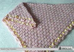 Kurdaleli bebek battaniye örnekleri