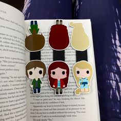 The Lunar Chronicles Magnetic Bookmark Set ($3-$7)