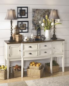 Whitesburg   Dining Room Server | D583 60 | Servers | Furniture Warehouse  IL Home