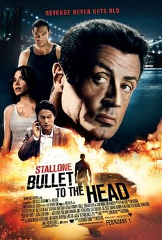 Bullet to the Head - loaded with lean & mean, no-frills action thrills, dominated by Sylvester Stallone & directed by Walter Hill. Sung Kang co-stars.
