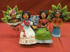 Two Fridas by Josefina Aguilar, after Frida Kahlo