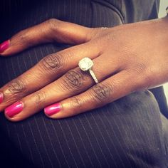 Tacori's Signature Dantela ring...available at Michael C. Fina!