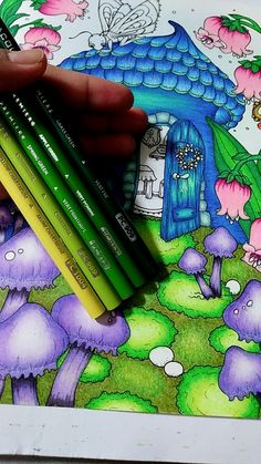 Coloring Tips, Leaf Coloring, Adult Coloring, Coloring Books, Coloring Pages, Colored Pencil Tutorial, Colored Pencil Techniques, Blending Colored Pencils, Color Blending