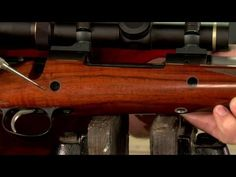 Gunsmithing - How to Install Magnum Crossbolts in a Rifle Stock