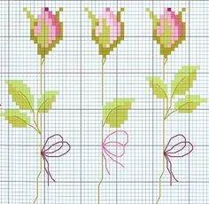 cross stitch roses https://www.etsy.com/shop/InstantCrossStitch