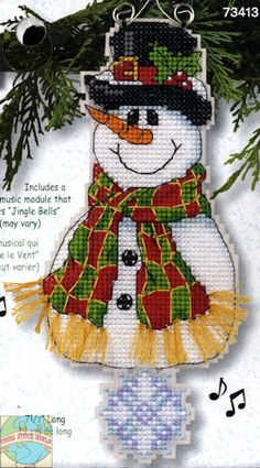 Dimensions Whimsies - Smiley Snowman - Cross Stitch World