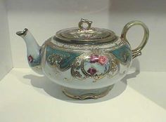 "Antique ""Nippon china"" Nippon porcelain Teapot. Beautiful!"