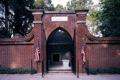 George Washington - Washington's Estate, Family Tomb in Mt. Vernon, Virginia.  Was amazing to say the pledge and pray at the grave of our first president. Oh, what has been sacrificed for our freedom.