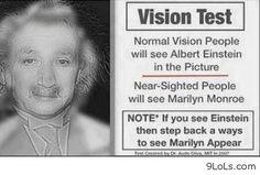 Marlyn Monroe or Albert Einstein? *Mind Blown*