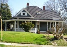 This project in the City of Abbeville presented unique challenges. Rather than installing metal roofing on top of the existing 100-year-old roof, we knew the right way to handle this project was the more difficult way: complete removal before installation. In addition to that, this beautiful historic-era home had a hidden gutter system that the …