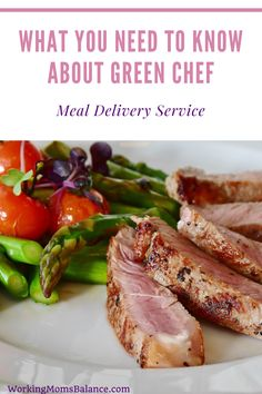 Green Chef Meal Delivery Service Review. This post gives a review from the perspective of a busy working mom and describes how this service could help get food on the table for dinner on busy weeknights.