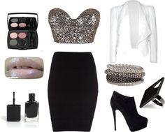 Club outfit by Natasha Jae I would definitely wear this!!