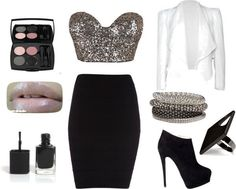 Club outfit by Natasha Jae I would definitely wear this!!