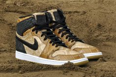 "Air Jordan 1 ""Desert Storm"" Custom http://nicek.is/18rvzbp"