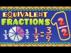 Equivalent Fractions Song - Comparing Equal Fractions Side by Side vitalized star system 4th Grade Fractions, Teaching Fractions, Equivalent Fractions, Fourth Grade Math, Teaching Math, Dividing Fractions, Multiplying Fractions, Multiplication, Fun Math