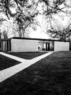 Philip Johnson, Hodgson House, Plan, New Canaan, Connecticut, 1951 on river home design, arab home design, vasseur home design, row home design, small home design, eclectic home design, country home design, arch home design, western home design,