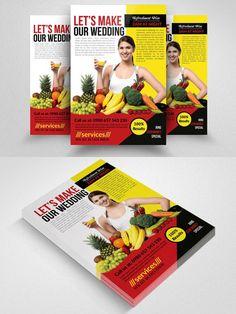 Fitness Healthy Diet Program Flyers. Flyer Templates. $6.00