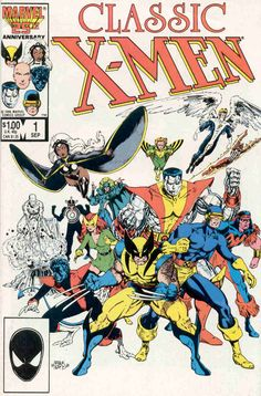 Classic X-Men #1.  It was a rip-off, but I enjoyed the new covers