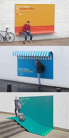 Still one of the best ad campaigns. IBM: Smart Ideas for Smarter Cities.