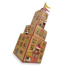 Cardboard skyscraper Empire State