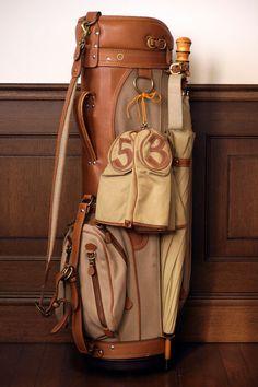 Ghurka No. 91 Eagle Golf Bag. I'd pick up golfing for this