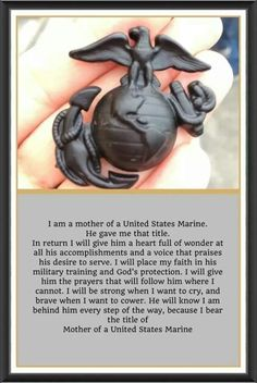 "I'm a Marine Mom! Just as ""once a Marine, always a Marine"", so goes it with the Marine Mom. Marine Mom Quotes, Military Quotes, Military Mom, Military Girlfriend, Usmc Quotes, Military Party, Quotes Quotes, Qoutes, Girlfriend Quotes"