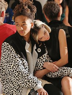 Jaden Smith and Sarah Snyder at Gypsy Sport