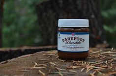 Dark Chocolate and Almond Spread with Sea Salt from Barefoot and Chocolate