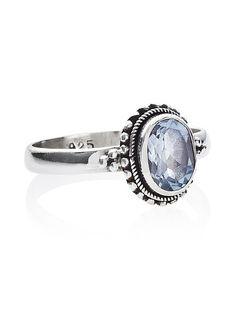 Auriga Blue Topaz Ring – Shop Dixi