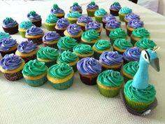peacock birthday cupcakes   Sweetie Cakes Bakery   Facebook