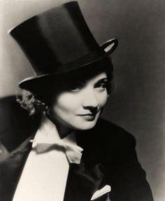 Portrait of Marlene Dietrich in Morocco directed by Josef Von Sternberg, 1930. photo by Eugene Robert Richee
