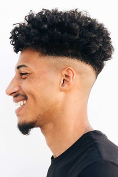 Check out our gallery for fresh and trendy Jewfro hairstyle ideas. We selected the most beautiful men hairstyles for guys with curly hair, from pixie Jew Afro with a fade to an undercut fro faux hawk. #menshaircuts #menshairstyles #jewfro #curlyhairmen #curlymen Tapered Undercut, Undercut Fade, Undercut Hairstyles, Curly Hair Men, Curly Hair Styles, Undercut Designs, Most Beautiful Man, Haircuts For Men, Afro