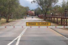 Sicheres Fahren zur Regenzeit im Norden Australiens. #australien