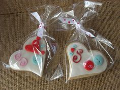 Valentines cookies by Any Silva