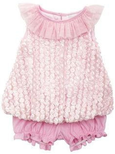 0052e197612 Light Pink Flower Soutahce Bubble W  Pink Knit Shorts
