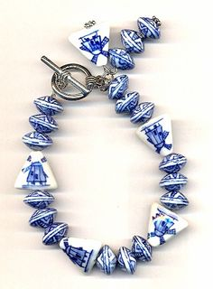 Beaded Bracelet  Wind Mill Pattern