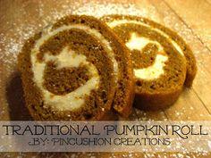 Traditional Pumpkin Roll