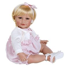 "Adora Baby Doll 20"" Rosebud Romper (Light Blond Hair/Blue Eyes) by Adora, http://www.amazon.com/dp/B0076MXK0W/ref=cm_sw_r_pi_dp_raUnqb0S6QXMZ"