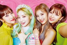 TWICE brought out their playful sides for 'Fancy You.''Fancy You' is the girl group's mini album. In the teaser images so far, the girls have s… Kpop Girl Groups, Korean Girl Groups, Kpop Girls, K Pop, Mini Albums, Signal Twice, Twice Album, Twice Jungyeon, Twice Fanart