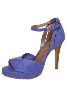 Sandal Blue overlapping length Colcci