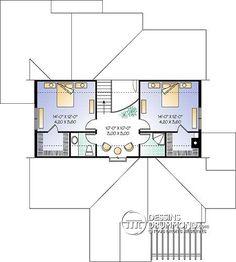Détail du plan de Maison unifamiliale W2625