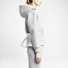 NikeLab x sacai Tech Fleece Full-Zip Dameshoodie. Nike Store NL
