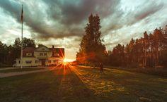 Sunset Sweden by Oskar Schlechter on 500px
