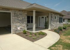 No step barrier free front entrance -- loads of great universal design ideas at this site!