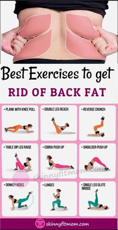 Try this routine of exercises for back fat to target those tough-to-tone excess fats that cause bra bulge. Try this routine of exercises for back fat to target those tough-to-tone excess fats that cause bra bulge. Back Fat Workout, At Home Workout Plan, At Home Workouts, Back Fat Exercises At Home, Lower Belly Workout, Lower Back Exercises, Workout Plans, Workout For Fat Loss, Exercises For Double Chin