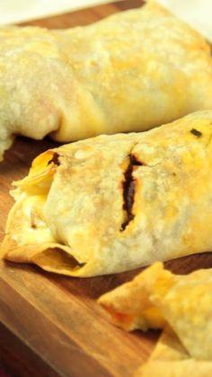 Tortillas caseras para los burritos, tacos o fajitas.